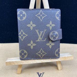 LV858 Monogram Card Wallet